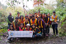 JTB Group Brighter Earth Project in the forest